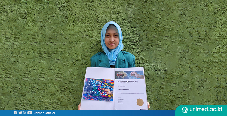 Mahasiswa FBS Raih Juara International THE BEST ARTWORK 23 rd ShinHan POSCARD ART CONTEST di Korea Selatan